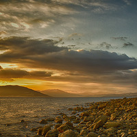 Buy canvas prints of Cloch Lighthouse by Geo Harris