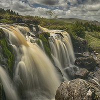 Buy canvas prints of  Fintry Loup by Geo Harris