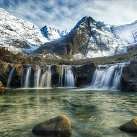 Buy canvas prints of Fairy Pools,Isle of Skye by Geo Harris