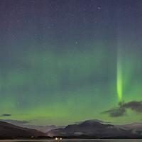 Buy canvas prints of Aurora Loch Lomond by Geo Harris