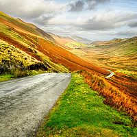 Buy canvas prints of Newlands Valley  by Linsey Williams