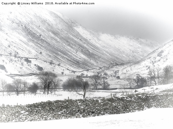 Kirkstone Pass, Cumbria Canvas print by Linsey Williams