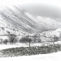 Buy canvas prints of Kirkstone Pass, Cumbria by Linsey Williams