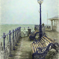 Buy canvas prints of Swanage Pier by Linsey Williams