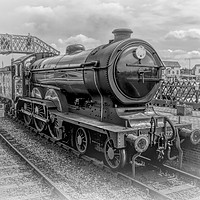 Buy canvas prints of LNER B12 – 8572 Steam Train by Linsey Williams