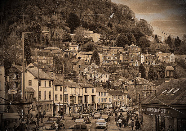 Matlock Bath Canvas print by Iain Mavin