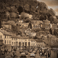 Buy canvas prints of Matlock Bath by Iain Mavin