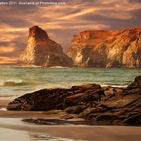 Buy canvas prints of Baras Nose by Nigel  Hatton