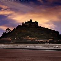 Buy canvas prints of The Mount by Nigel  Hatton