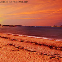 Buy canvas prints of Sun Rise At St Michael's Mount by Nigel  Hatton