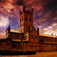 Buy canvas prints of The Abbey by Nigel  Hatton