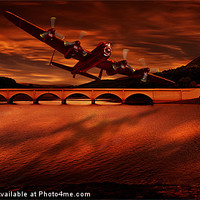Buy canvas prints of The Lancaster by Nigel  Hatton