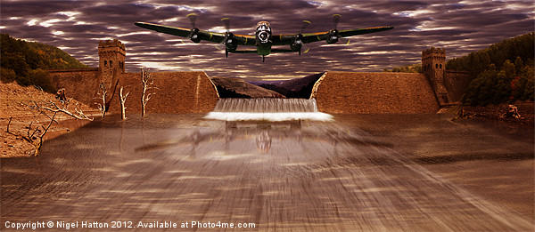 The Dambusters Canvas print by Nigel  Hatton