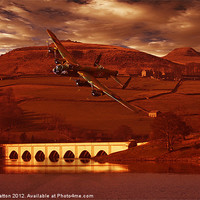 Buy canvas prints of Into Ladybower by Nigel  Hatton
