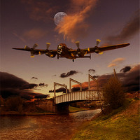 Buy canvas prints of The Last One Home by Nigel  Hatton