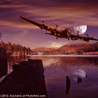 Buy canvas prints of At The Going Down of The Sun by Nigel  Hatton
