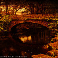 Buy canvas prints of Evening at Rivelin by Nigel  Hatton