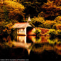 Buy canvas prints of Trevrano Boat House by Nigel  Hatton