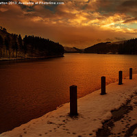 Buy canvas prints of Golden Waters by Nigel  Hatton