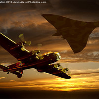 Buy canvas prints of Legends of the Sky by Nigel  Hatton