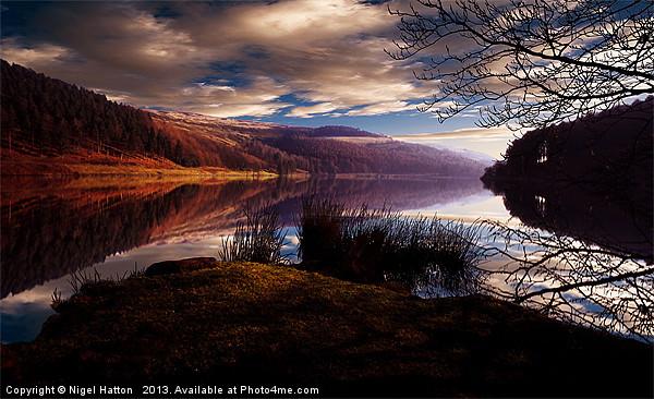 Derwent Reservoir Canvas print by Nigel  Hatton