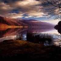 Buy canvas prints of Derwent Reservoir by Nigel  Hatton