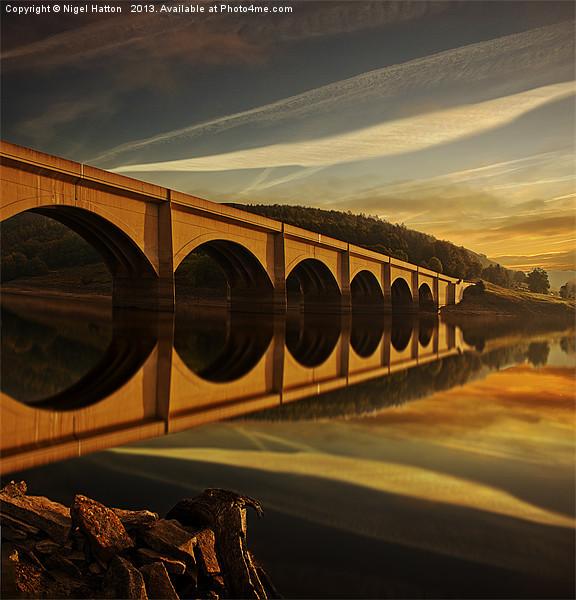 Heavenly Arches Canvas print by Nigel  Hatton