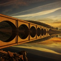 Buy canvas prints of Heavenly Arches by Nigel  Hatton