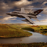 Buy canvas prints of Tornado in the Valley by Nigel  Hatton
