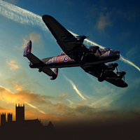 Buy canvas prints of City of Lincoln by Nigel  Hatton