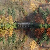 Buy canvas prints of Autumn in Derwent by Nigel  Hatton