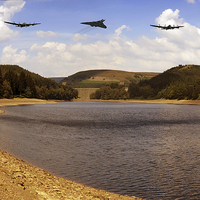 Buy canvas prints of  Three Over Howden by Nigel Hatton
