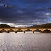 Buy canvas prints of Two Over Ashopton by Nigel Hatton