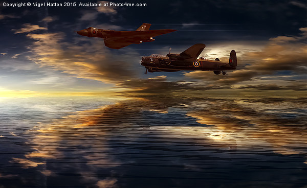 Legends Canvas print by Nigel Hatton