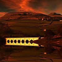 Buy canvas prints of Crook Hill sunrise by Nigel Hatton