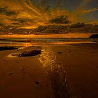 Buy canvas prints of Low Tide by Nigel Hatton