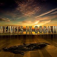 Buy canvas prints of My Heart in Cornwall by Nigel Hatton