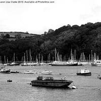 Buy canvas prints of River Dart by Sharon Lisa Clarke
