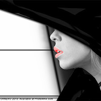 Buy canvas prints of Lips by Pierre TORNERO