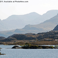 Buy canvas prints of Fishing - Loch Tollaidh by Scott Marshall