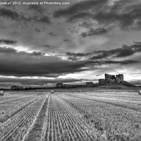 Buy canvas prints of Duffus Castle Harvest by Scott Marshall