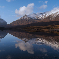 Buy canvas prints of Becalmed - Torridon by Scott Marshall