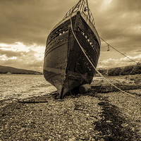 Buy canvas prints of Fished Out by Scott Marshall