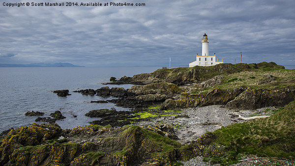 Turnberry on the Rocks Canvas print by Scott Marshall