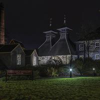 Buy canvas prints of  After Dark Strathisla Distillery  by Scott Marshall