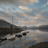 Buy canvas prints of  Loch Leven Anchorage by Scott Marshall