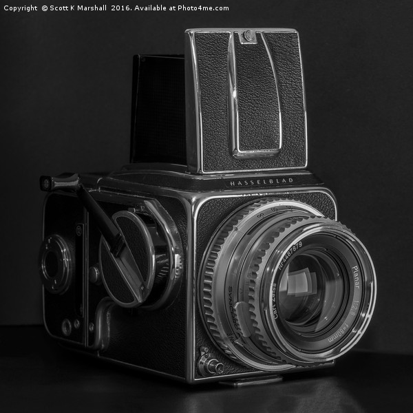 1967 Hasselblad 500c Canvas print by Scott K Marshall