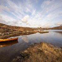 Buy canvas prints of The Rowing Boat by Scott K Marshall