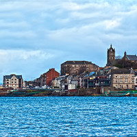 Buy canvas prints of Gourock Town by Grant Paterson
