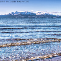 Buy canvas prints of North Shore Ardrossan by Valerie Paterson